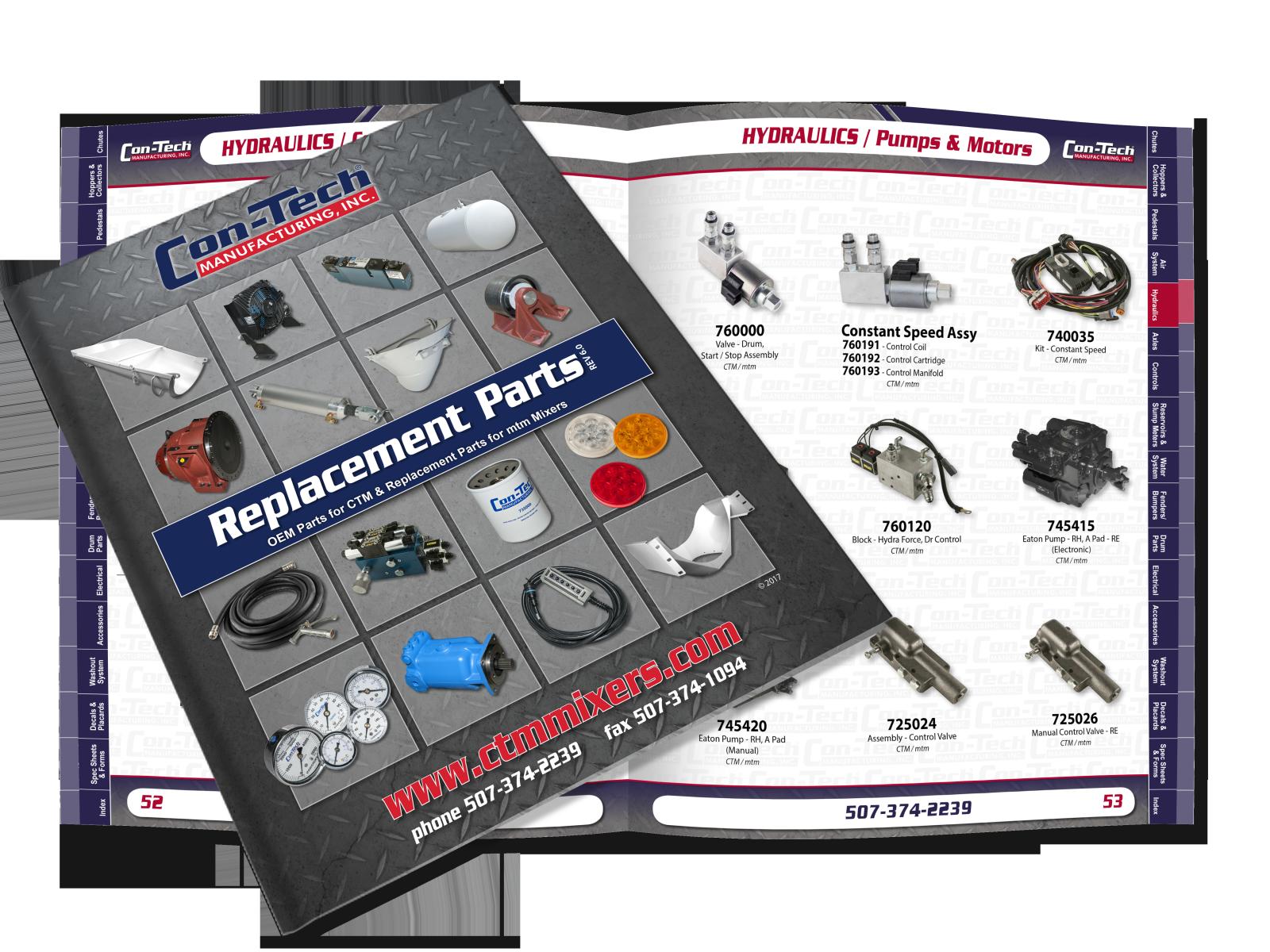 Con-Tech Parts Catalog