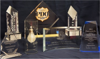 Awards Custom Alarm has worked hard to earn