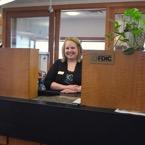 Teller at Merchants Bank