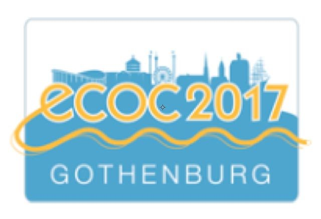 ECOC 2017: September 18th – 20th Gothenburg, Sweden