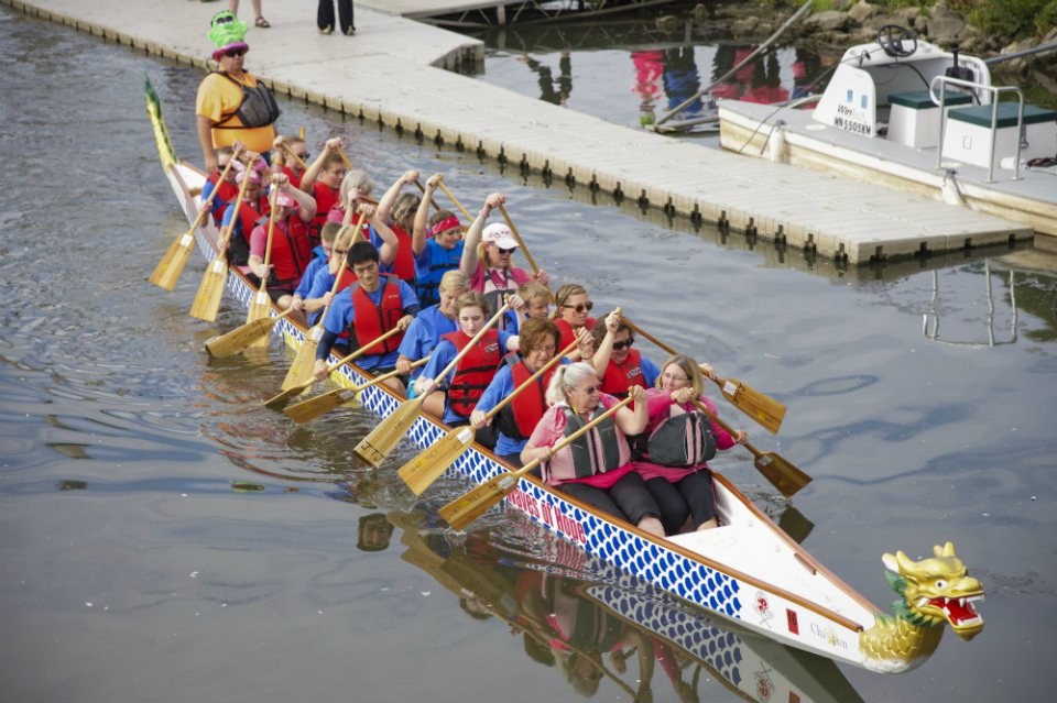 Dragonboat Rides - photo by Lauren Kittridge Photography