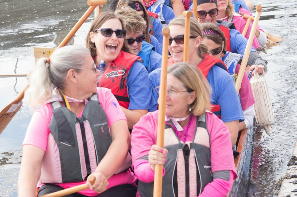 Fun on the dragonboat - photo by Sandy Brinkman Photography
