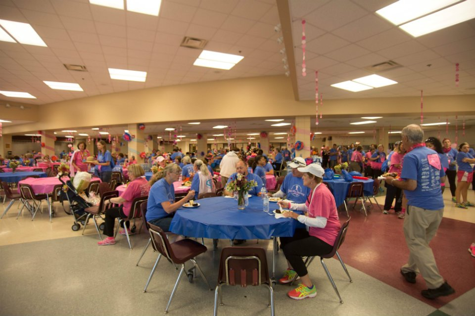 Lunch in Mayo HS Cafeteria - photo by Sandy Brinkman Photography