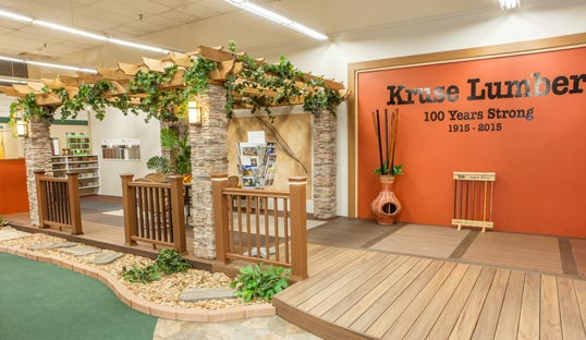 Kruse Lumber Showroom