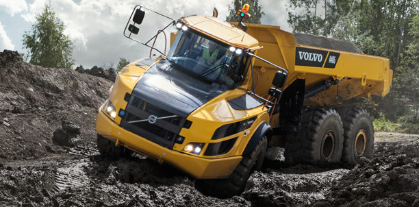 Volvo: Articulated Haulers