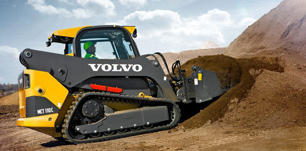 Volvo Skid Steer : Volvo construction equipment smart works loaders haulers