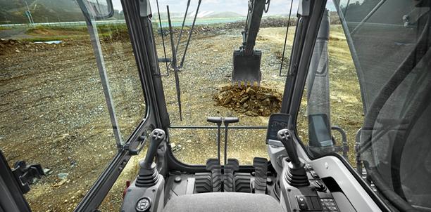 Volvo Excavator Cab Pic