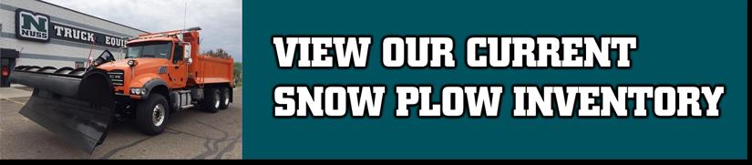 Snow Plow Trucks Inventory