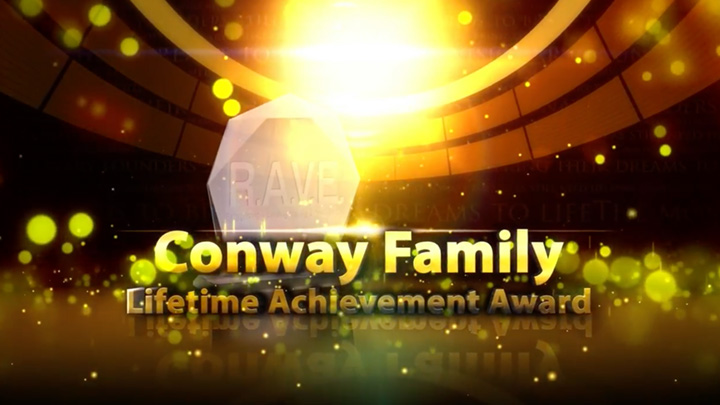 RAVE 2016 – Lifetime Achievement Awards – Jim, Philip & Peter Conway