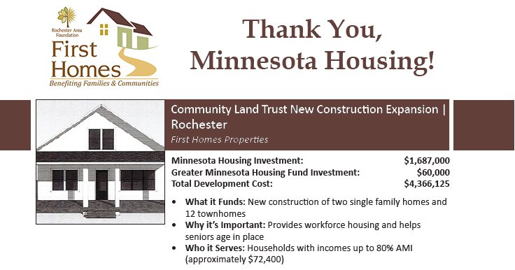 Thank You, Minnesota Housing!