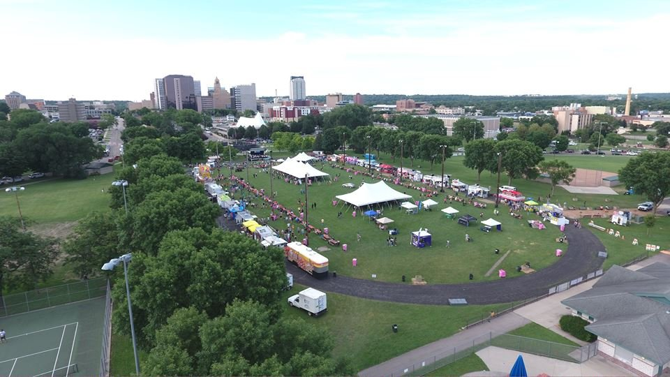 Rochesterfest Aerial