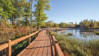 Milford Mine Memorial Park Boardwalk