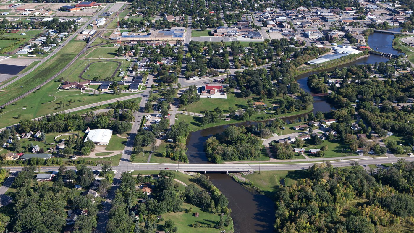 Greenwood Street Bridge - Thief River Falls, MN