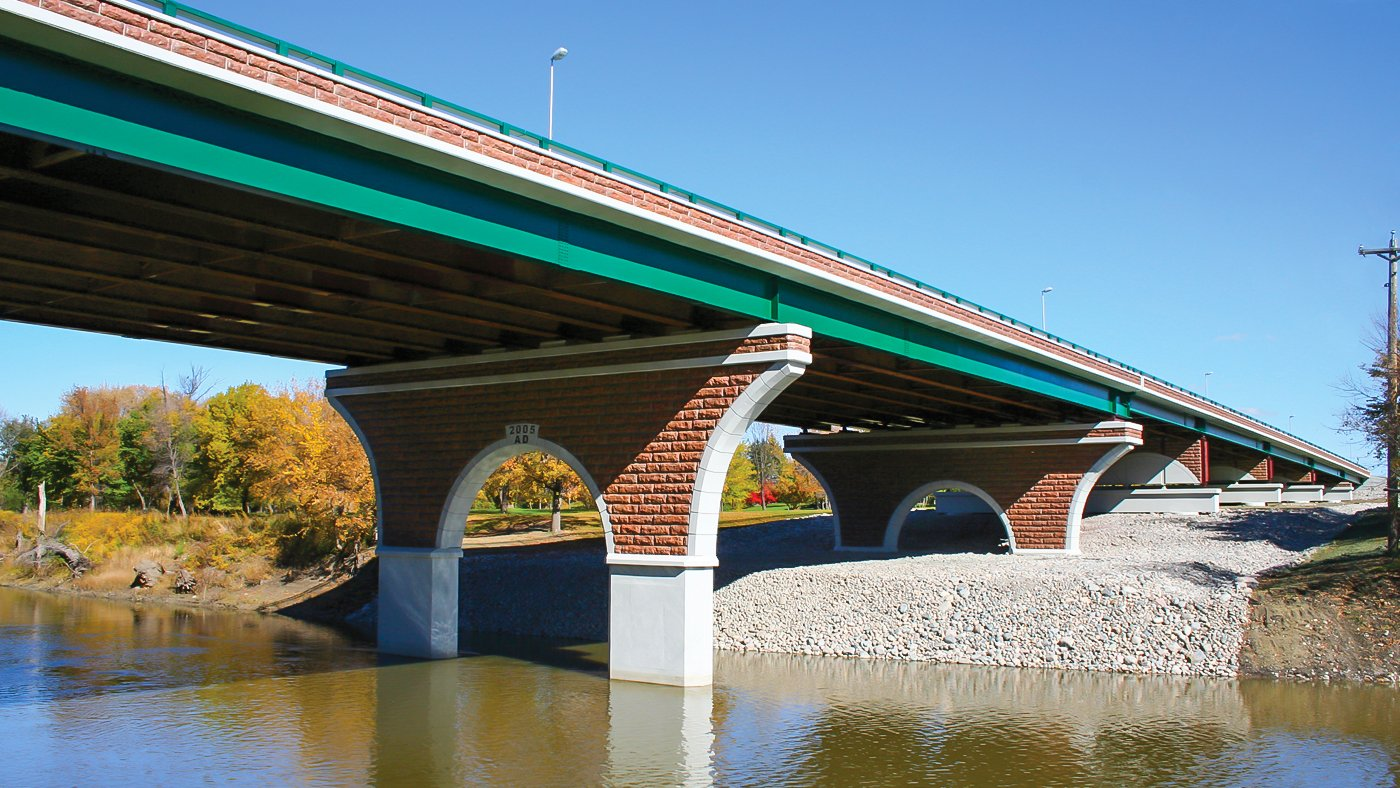 Wall Street Bridge - Fargo, ND and Moorhead, MN - 2007_PW (1)