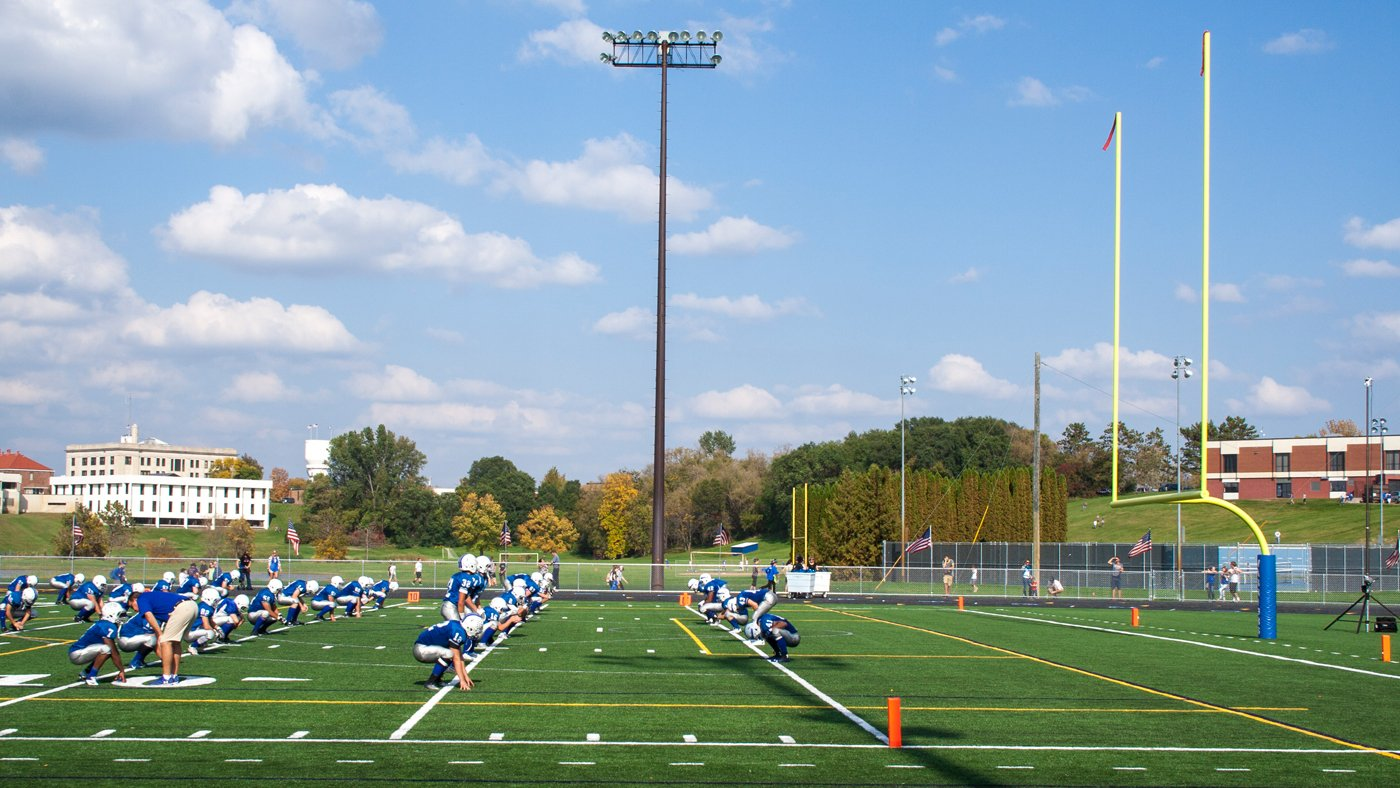 Brainerd High School Artificial Turf — Brainerd, MN
