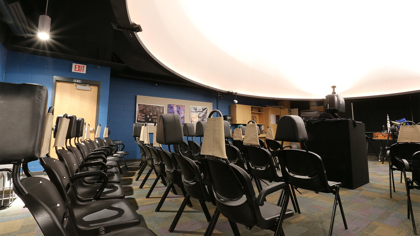 Planetarium at Forestview Middle School — Baxter, MN