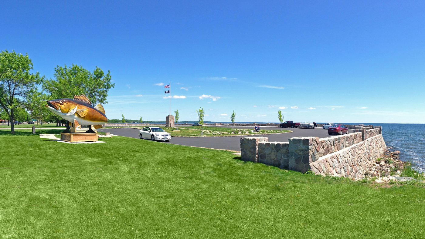 Garrison Concourse Improvements — Garrison, MN