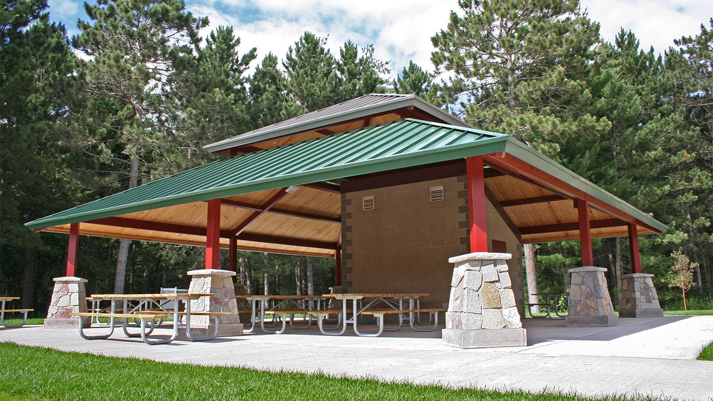 Whipple Beach Improvements + Pavilions — Baxter, MN