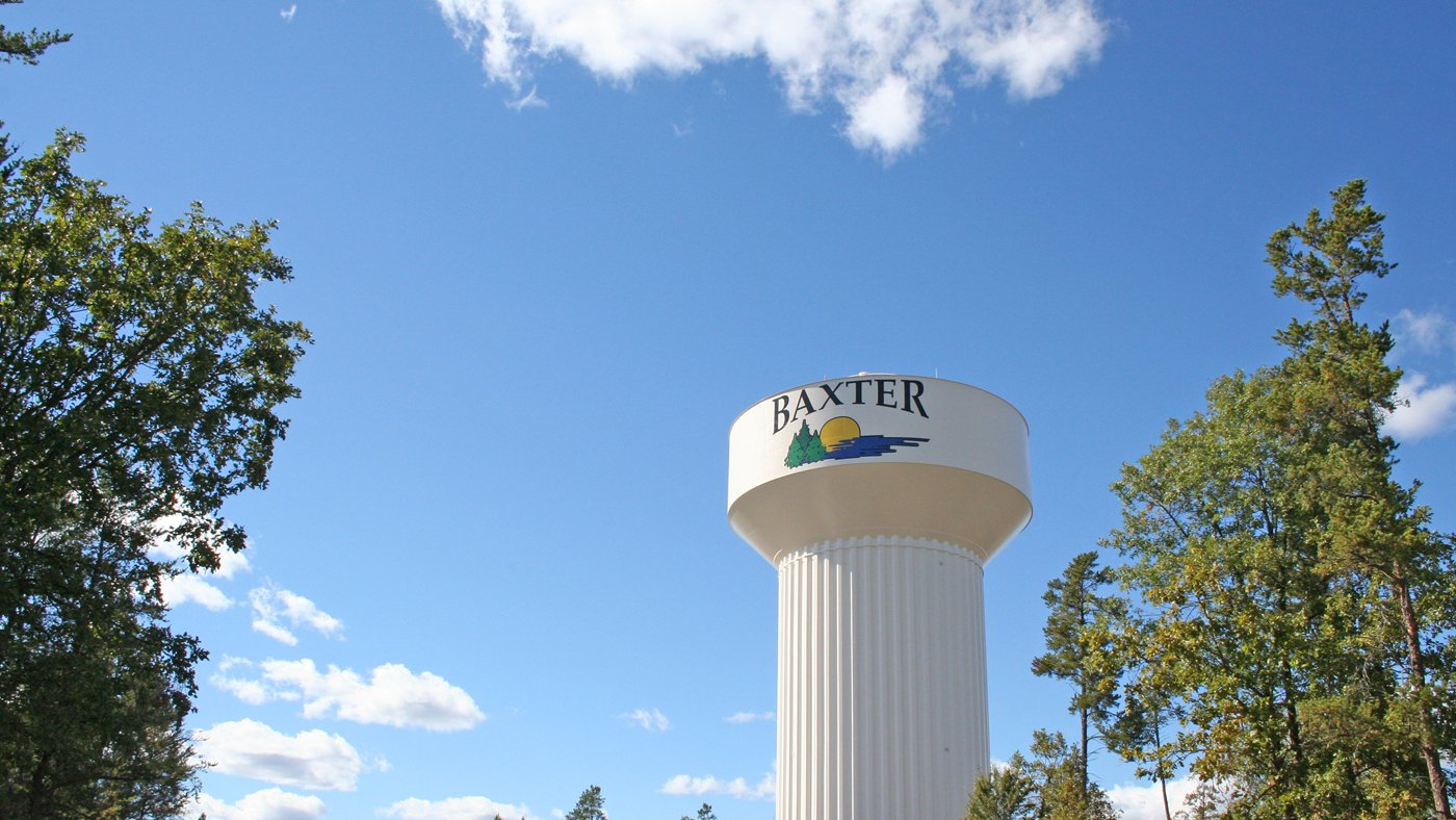 Baxter Water Tower — Baxter, MN