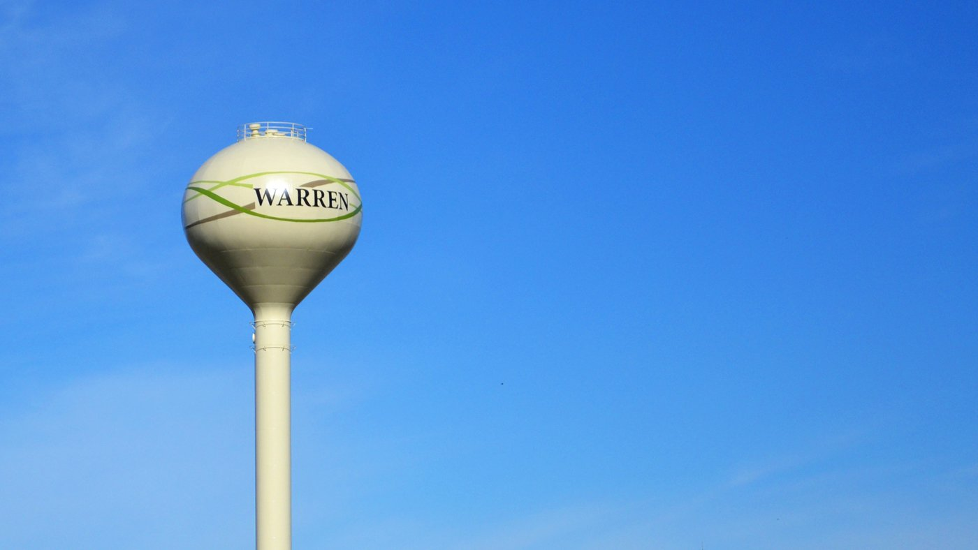 Warren Water Tower — Warren, MN
