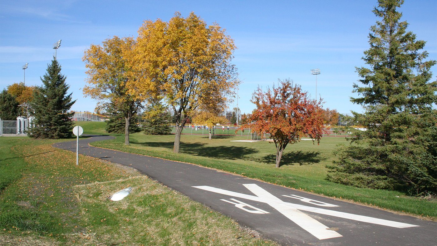 UMC Bike Path — Crookston, MN
