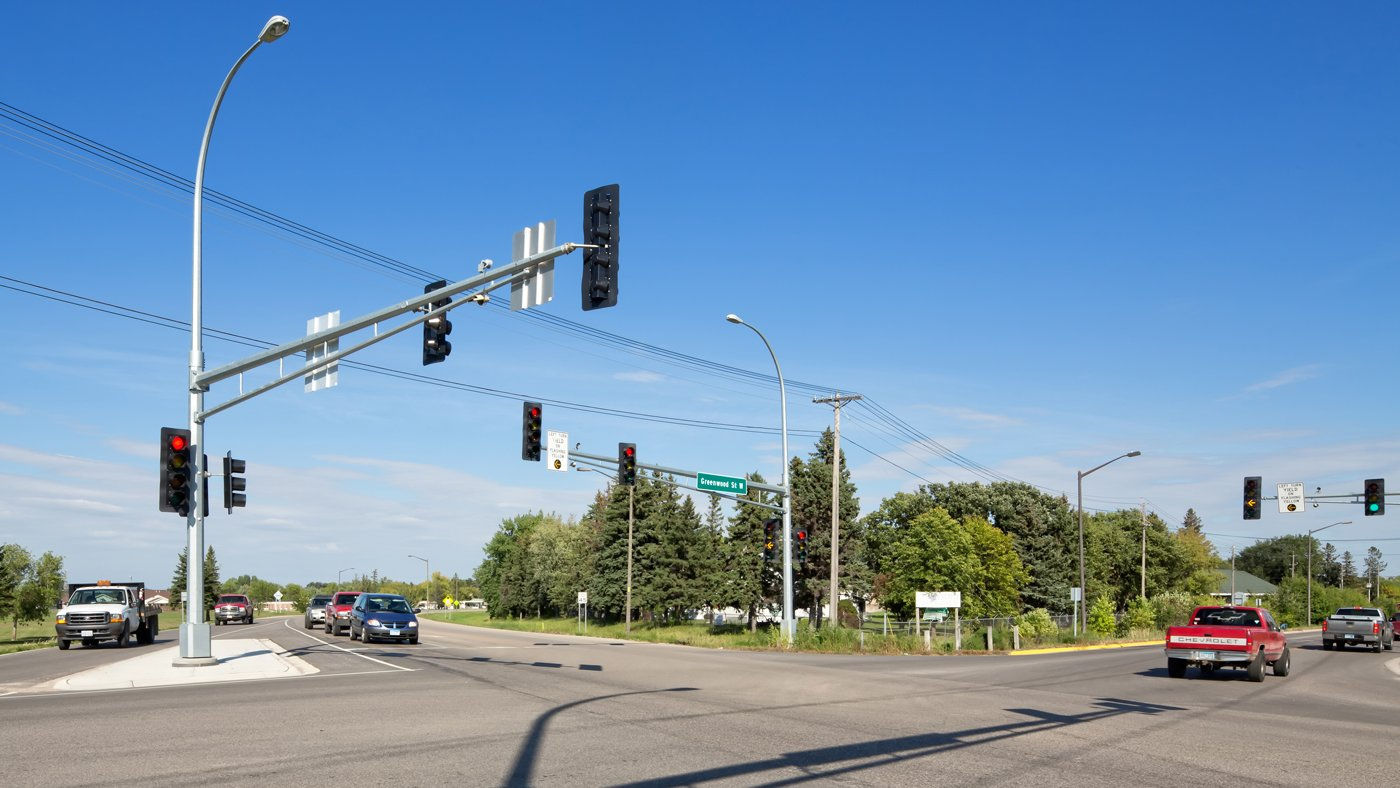 Greenwood Street Traffic Signals — Thief River Falls, MN