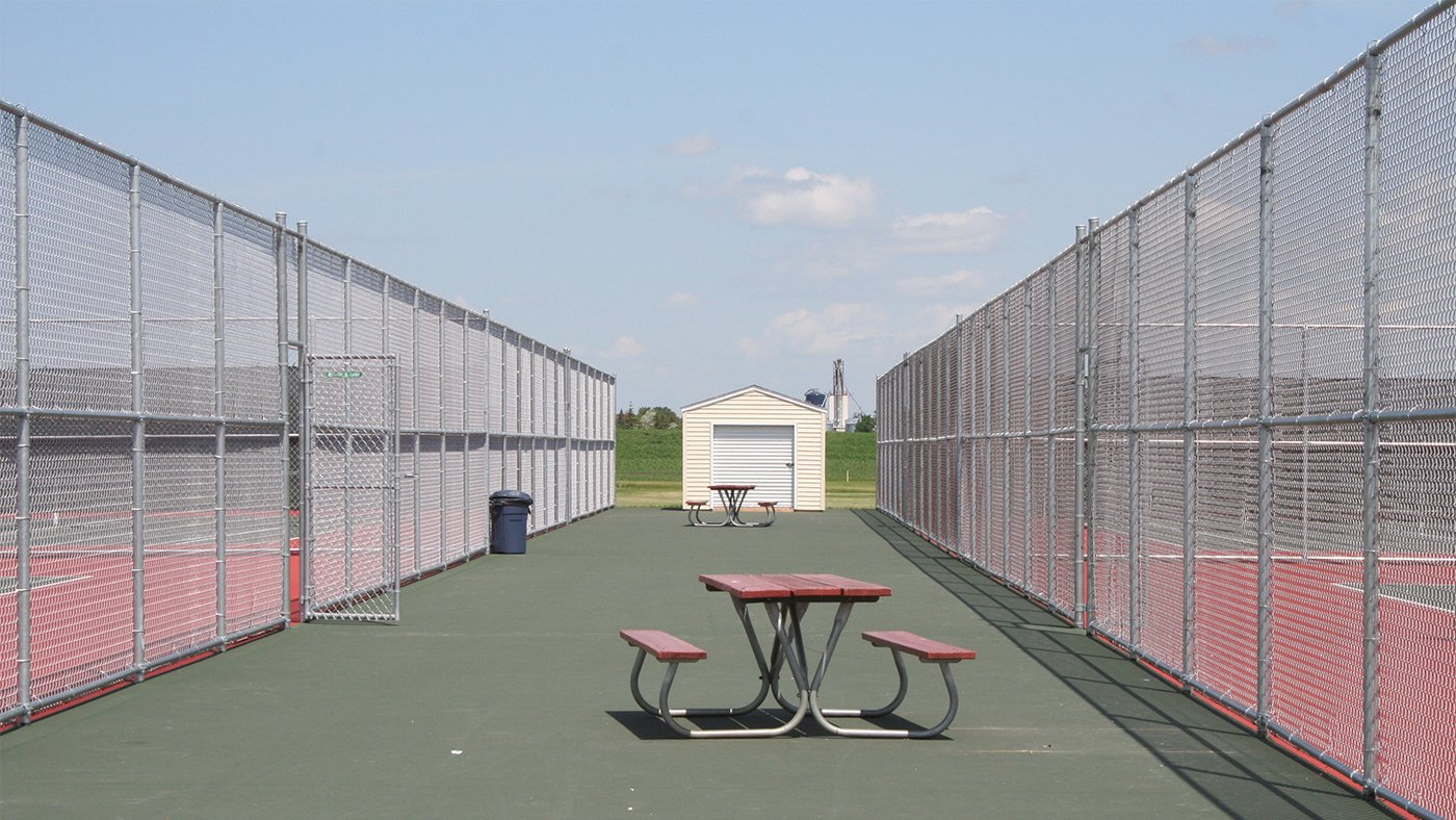 Crookston HS Tennis Courts — Crookston, MN
