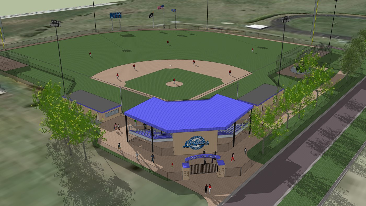 Minnewaska Area Schools Baseball Field — Glenwood, MN
