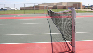 Crookston High School Tennis Courts