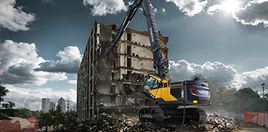 Volvo: Demolition Equipment