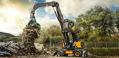 Volvo: Wheeled Excavators