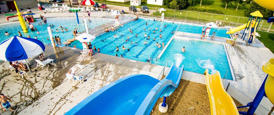 Stewartville Pool in the Rochester Area