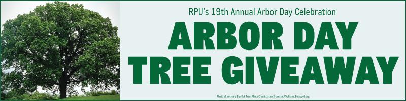 Arbor Day Celebration Cancelled